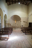 The ancient church of San Damiano in Italy Stock Photos