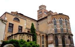 Ancient church Santa maria Stock Photography