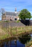 Ancient church in Schokland (Unesco), Flevoland, Netherlands Stock Photo