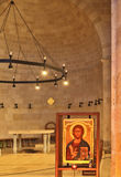 The ancient church on the Sea of Galilee. Royalty Free Stock Photos