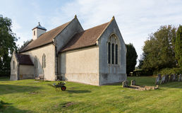 Ancient church in Shelland Suffolk Stock Images