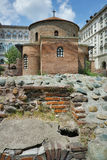 Ancient church of St. George. Sofia, Bulgaria stock images