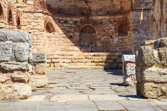 The ancient Church of St. Sophia, Nessebar, Bulgaria Stock Photography