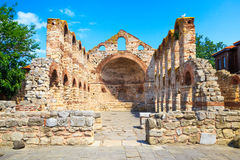 The ancient Church of St. Sophia, Nessebar, Bulgaria Royalty Free Stock Photo