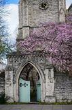 St. Mark`s Church at Regents Park in London stock images