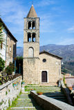 Ancient church in Subiaco, Italy Royalty Free Stock Images