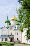 Ancient church in Suzdal. A gold ring of Russia Royalty Free Stock Photography