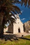 Ancient church at tropic island Stock Photo