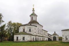 Ancient church in Veliky Ustyug Stock Photography