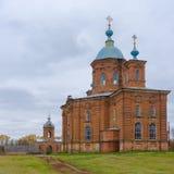 An ancient church in Vorozhba village Ukraine Stock Image
