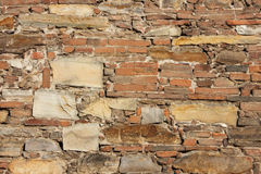 Ancient church wall background Royalty Free Stock Photo
