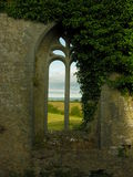 ANCIENT CHURCH WINDOW Royalty Free Stock Photos