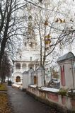 Ancient church in Yaroslavl, Russia. Royalty Free Stock Photography