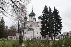 Ancient church in Yaroslavl, Russia. Royalty Free Stock Photo