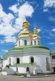 Ancient churches of Kyiv Pechersk Lavra Stock Photos