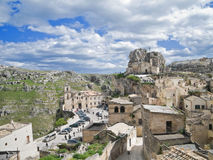 Ancient churches of Sassi of Matera. Basilicata. Stock Photo