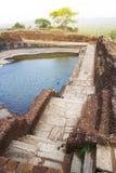 Ancient Cistern at Sigiriya, Sri Lanka Stock Images