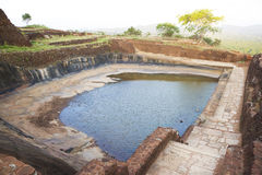 Ancient Cistern at Sigiriya, Sri Lanka Royalty Free Stock Photography