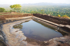 Ancient Cistern at Sigiriya, Sri Lanka Stock Photography