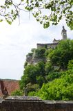 Ancient citadel of Rocamadour, France royalty free stock image