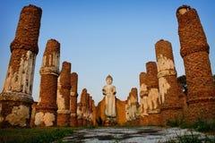 Ancient city. In Ayutthaya Thailand Stock Image