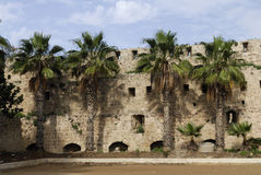 Ancient city of Acre, Israel Stock Images