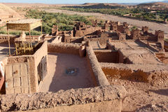 Ancient city of Ait Benhaddou in Morocco Stock Photo