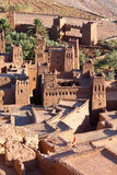 Ancient city of Ait Benhaddou in Morocco Royalty Free Stock Photo