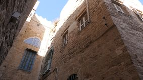 Ancient houses of Akko Acre, Israel Royalty Free Stock Photo