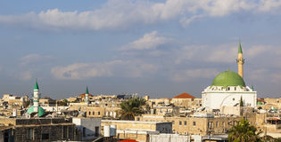 Ancient city of Akko in the morning. Israel. Royalty Free Stock Photography
