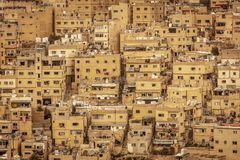 Ancient city of Amman. Detail of the ancient city of Amman, Jordan. Famous place and international tourist destination royalty free stock photo