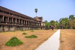 Ancient city of Angkor in Cambodia Royalty Free Stock Photo