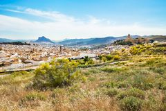 Ancient city Antequera in the center of Andalusia royalty free stock images