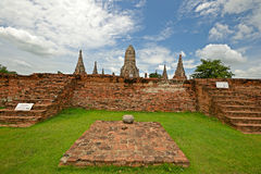 Ancient city of Ayuthaya Stock Images