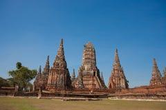 Ancient city of Ayuttaya Royalty Free Stock Photos