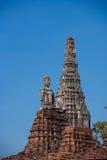 Ancient city of Ayuttaya Stock Photo