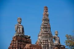 Ancient city of Ayuttaya Stock Photos