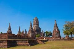 Ancient city of Ayuttaya Royalty Free Stock Image