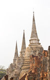 The ancient city of Ayutthaya Royalty Free Stock Photos