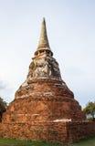 Ancient city at Ayutthaya province,Thailand.  Royalty Free Stock Photos
