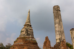Ancient city of Ayutthaya. Royalty Free Stock Images