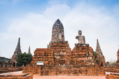 The ancient city of Ayutthaya Royalty Free Stock Photo