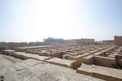 The ancient city of Babylon Royalty Free Stock Image
