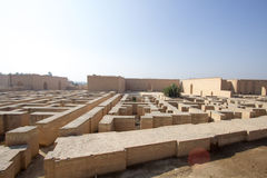 The ancient city of Babylon Stock Photo