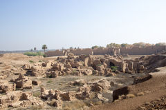 The ancient city of Babylon Stock Images