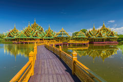 The ancient city in Bangkok Royalty Free Stock Images