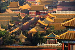 The ancient city of Beijing, China Royalty Free Stock Photo