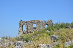 The ancient city of Bergama kingdom due to Silyon Stock Photo