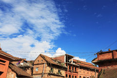 Ancient City in BHAKTAPUR Royalty Free Stock Image