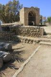 Ancient City of Biblical Ashkelon in Israel Stock Image